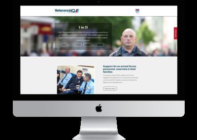 Veterans HQ Homepage